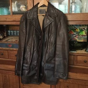 Vintage J.Crew leather jacket